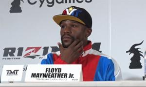 Floyd Mayweather vs. Tenshin Tenshin Nasukawa