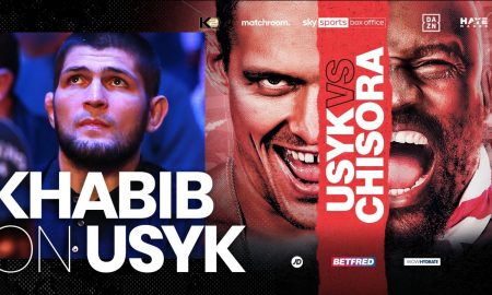 UFC Star Khabib - Usyk Not Like Other Heavyweights